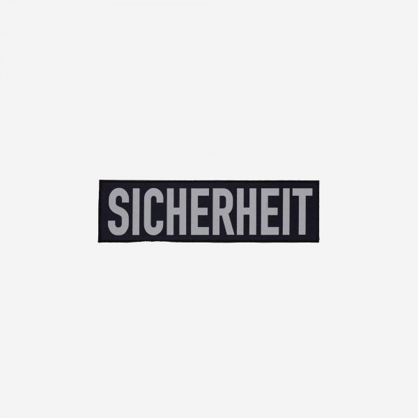 SICHERHEIT-Schriftzug - klein / by Safeguard