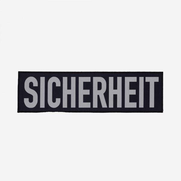 SICHERHEIT-Schriftzug - groß / by Safeguard